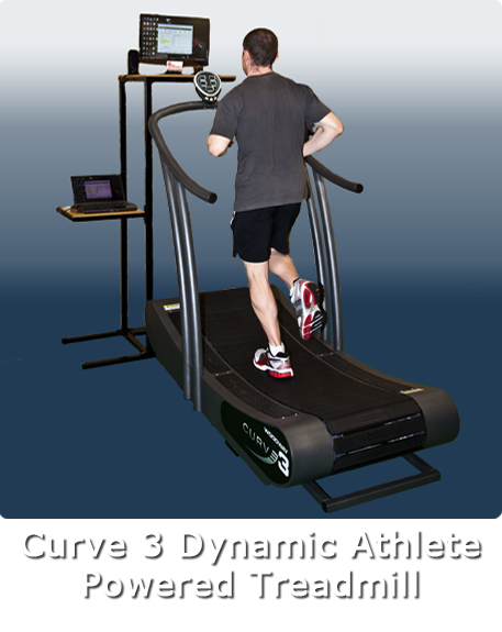 Curve 3 Dynamic Athlete Powered Treadmill